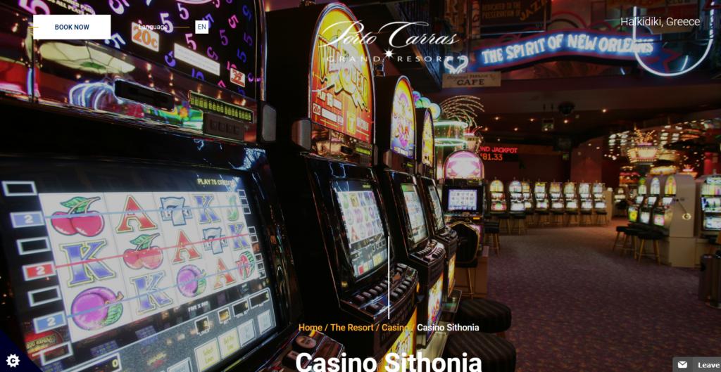 Casino Sithonia στο Πόρτο Καρράς
